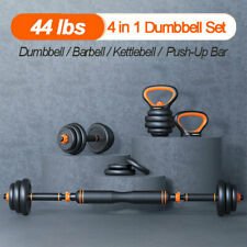 Dumbbells Weight Set Adjustable Multifunctional Barbell Kettlebell Push Up Stand