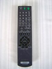 SONY DVD PLAYER REMOTE CONTROL RMT-D165A