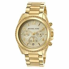 Michael Kors Gold Plated Wristwatches