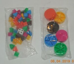 2002 Trivial Pursuit 20th Anniversary Edition Replacement Movers Wedges Die ONLY