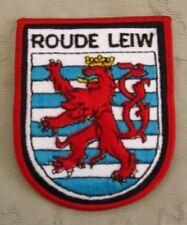 Roude Leiw Luxemburg Aufnäher Patch 8 x 6 cm NEU (A54v)