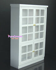 1:12 Dollhouse Miniature Furniture Kitchen Cabinet Cupboard  Display Shelf Wood