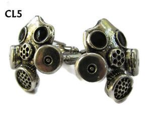 steampunk jewellery cufflinks Breaking Bad gasmask cyberpunk Doctor Who #CL5
