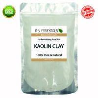 KAOLIN CLAY 2oz 100% Pure Powder Cosmetic Grade Natural for Soap Face Mask Bulk