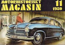 Motorhistoriskt Magasin Swedish Car Magazine 11 1980 Borgward 040317nonDBE