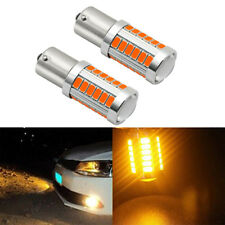 Amber 1156 33SMD LED Turn Signal Light Bulb For BMW E30 E36 E46 E34 E39 X3 X5