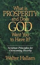 USED (VG) What is Prosperity and Does God Want You to Have It? by Walter Hallam
