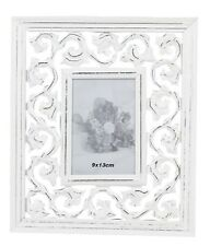 Photo Picture Frame White Antique New Stehrahmen Wood Baroque Rosali Frame 9x13