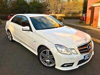 2010 WHITE MERCEDES-BENZ E350 E CLASS CDI AUTO SPORT BLUEEFFIENCY C220 E220 E250