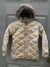 Girls Burton Dri Ride Sugar & Spice Down Winter Ski Snowboard Jacket - Size 7/8