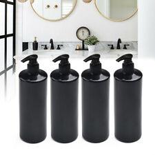 4x Nachfüllbar 500ml Leer Lotion Pumpe Flaschen Seifenspender Shampoo Sets