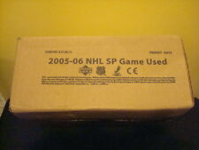 2005-06 UPPER DECK SP GAME USED HOCKEY SEALED HOBBY CASE 6 BOXES Sidney Crosby R