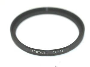 Canon Step Up Ring 52-55mm