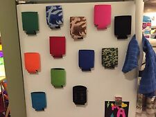 4 Magnetic Koozies Coozies Can Holders Great Gift Tailgate Golf Beer BBQ Strong