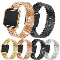 Edelstahl Ersatzarmband Watch Band Armband Uhrenarmband Für Fitbit Blaze