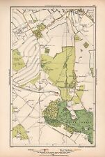 1933 London Map-Bromley,Hayes,West Wickham Common