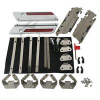 Saddlebag Hardware Latch Hinge Lock Kit Fit For Harley Touring Road Glide 93-13