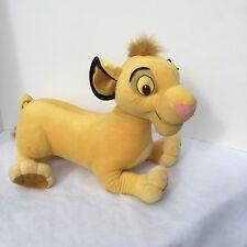 "Disney Baby Simba Plush Stuffed Animal Large Jumbo 20"" Lion King 2002 hasbro"