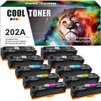 10PK Toner Compatible for HP CF500A 202A LaserJet Pro MFP M254dw M281cdw M281fdw
