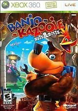 XBOX 360 Banjo-Kazooie: Nuts & Bolts *MINT*COMPLETE with poster* kazoie nut bolt