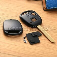 Replacement 2Button Remote Key Case Shell for Toyota Yaris Core Hatchback 4-Door