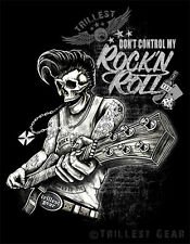 NEU MEN T-SHIRT - Gr. S M L XL XXL  Schwarz Rock n Roll Rockabilly  Old School