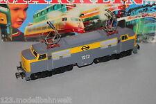 Märklin 3055 Locomotora Eléctrica Serie 1200 NS 1212 Gris/Amarillo Spur H0 Ovp