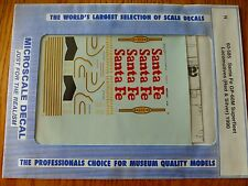 Microscale Decal N  #60-585 Diesel-GP60M (SD75M with insert)-Red & Silver Superf