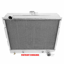 1970-1973 Dodge Coronet Radiator, 4 Row Aluminum Champion Cooling