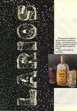 PUBLICITE ADVERTISING   1988   LARIOS  dry GIN