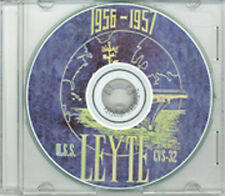 USS Leyte CVS 32 1956 - 1957 CRUISE BOOK CD  US Navy