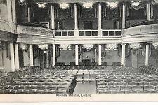 18015 AK petit theather Leipzig intérieur ballustrade devraientêtre um1930