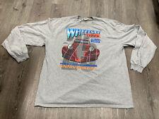 New listing 2003 wheels of time hot rod custom car Long Sleeve T Shirt 25th Anniversary Meet