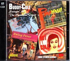BUDDY COLE: Swingin' At The Hammond Organ 2-CD (Hot And/Powerhouse/Swing Fever)
