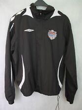 Umbro SOLLENTUNA UNITED 2006 Sweden Fotboll Football Training Jacket  Black XS