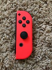 Genuine Nintendo Switch Right Side Neon Red Joy Con Controller Only! Tested!