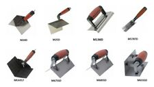 Marshalltown Inside/Outside Stainless Steel Plasterers Corner Trowel Choose Type