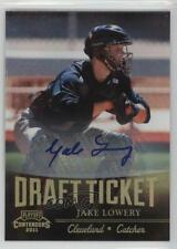 2011 Playoff Contenders Draft Tickets Signatures Jake Lowery #DT29 Auto