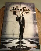 The Addams Family original onesheet movie poster 1991 Comedy Fantasy