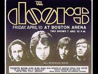 "The Doors Boston 16"" x 12"" Photo Repro Concert Poster"