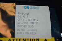 HEWLETT PACKARD HP5082-2815 DO-35 Matched Set of 4 IC New Quantity-1