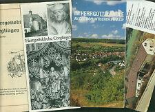 4 Prospekte Creglingen Tauber Herrgottskirche Jugendherberge Fotos Zeichnungen