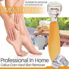 10 Blade + Pedicure Callus Shaver Foot Hard Tough Skin Remover Cutter Razor Tool