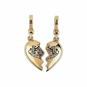 Juicy Couture Charm BFF Broken Heart Gold Tone