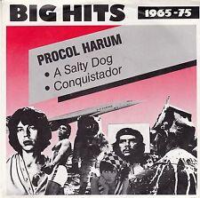 "45 T SP PROCOL HARUM  ""A SALTY DOG"" & ""CONQUISTADOR"""