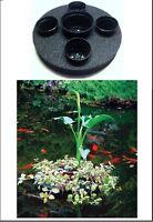 "Sundial 16"" Floating Island Planter-koi-pond-water garden-pot-planter-aquatic"