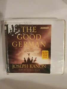 The Good German By Joseph Kanon CD audiobook  Read By Stanley Tucci