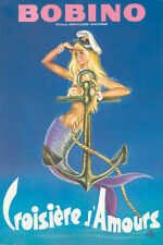 Original Vintage Poster Okley Bobino Paris Showgirl Mercedi Anchor 1976
