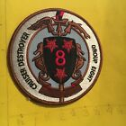 US Navy Cruiser Destroyer Group 8 Patch 9/13