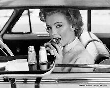 ART PRINT Marilyn Monroe at the Drive-In, 1952 by Philippe Halsman 30x24 Poster